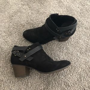 Fergalicious Black Ankle Booties